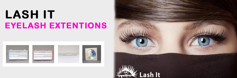LASH IT EYELASH EXTENTIONS SINGLE LASHES AND FLARE LASHES