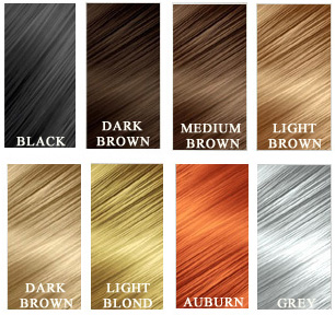 Kerathik Colour Chart Hair Thickening Fibers